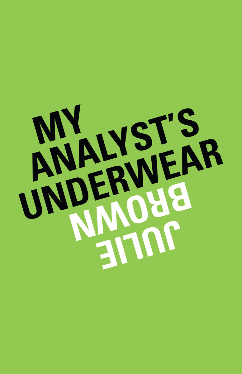 My Analyst's Underwear