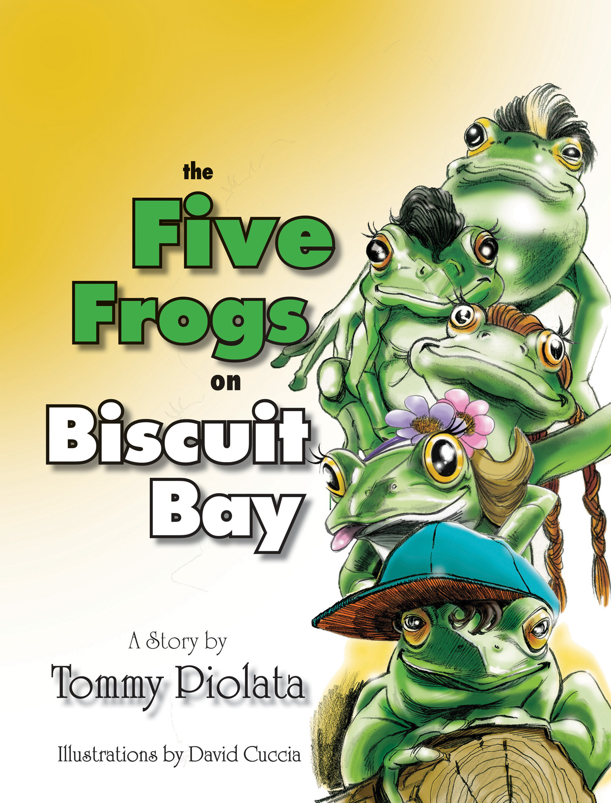 The Five Frogs on Biscuit Bay
